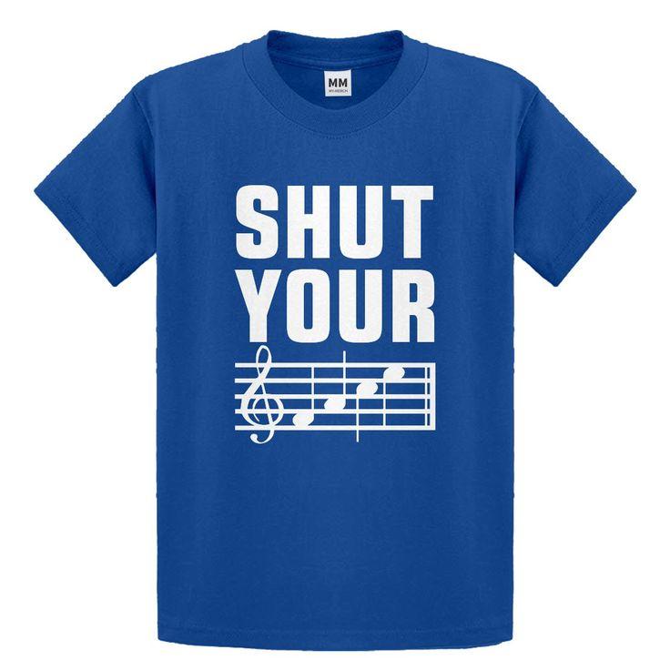 Youth Shut Your Face Kids T-shirt