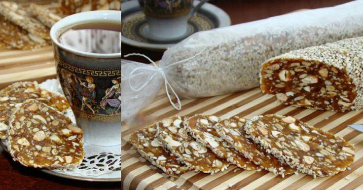 Полезная, сладкая, а главное простая в исполнении колбаска из сухофруктов - очень вкусный десерт