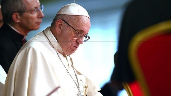 "Pope Francis: The world is near 'suicide' on climate change; 'it's now or never' - ""I would say that we are at the limits of suicide,"" Pope Francis warned."