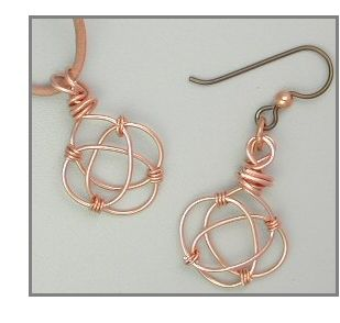 Image detail for -Celtic knot wire charm - Beadjewelry.net - Jewelry Making and Beading ...