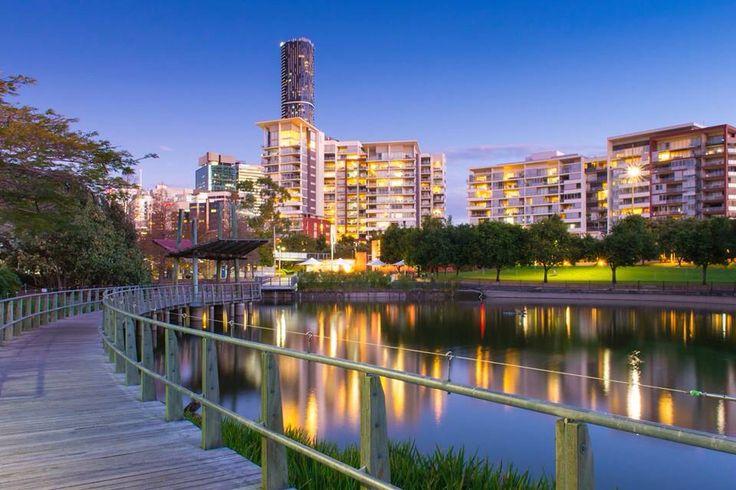 Roma Street Parklands, Brisbane Australia