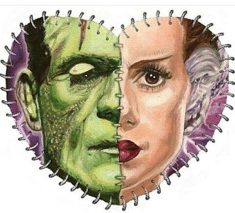 Frankenstein & his Bride