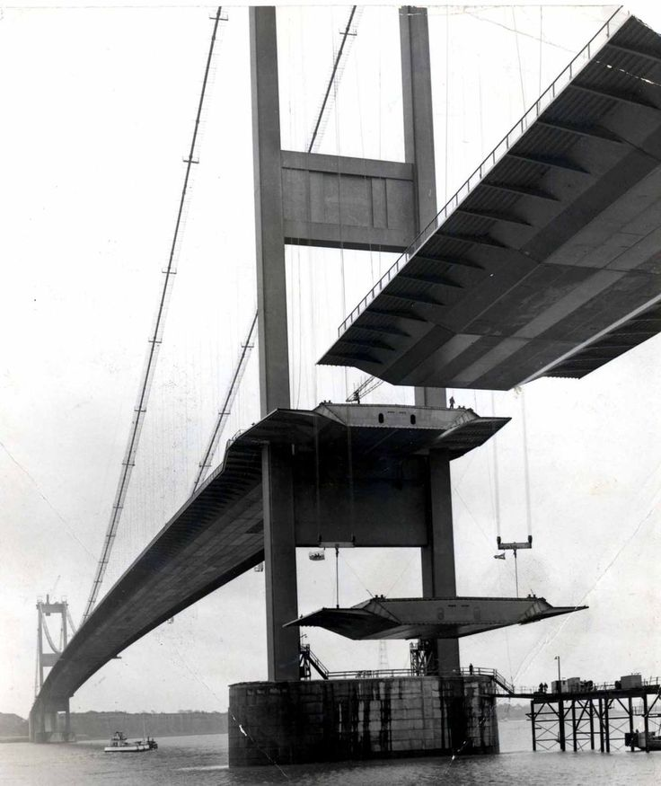 39 fascinating pictures that show the M4 and Severn Bridge being built - Wales Online