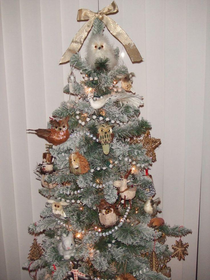 Our Small Woodland Christmas Tree Woodland Christmas
