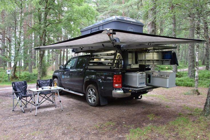 11 Interior Design For Camper Vans Truck bed camping