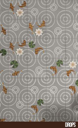Mosaicos, Baldosas, Suelos y Pavimentos Hidraulicos en Cenefas | Entic Designs