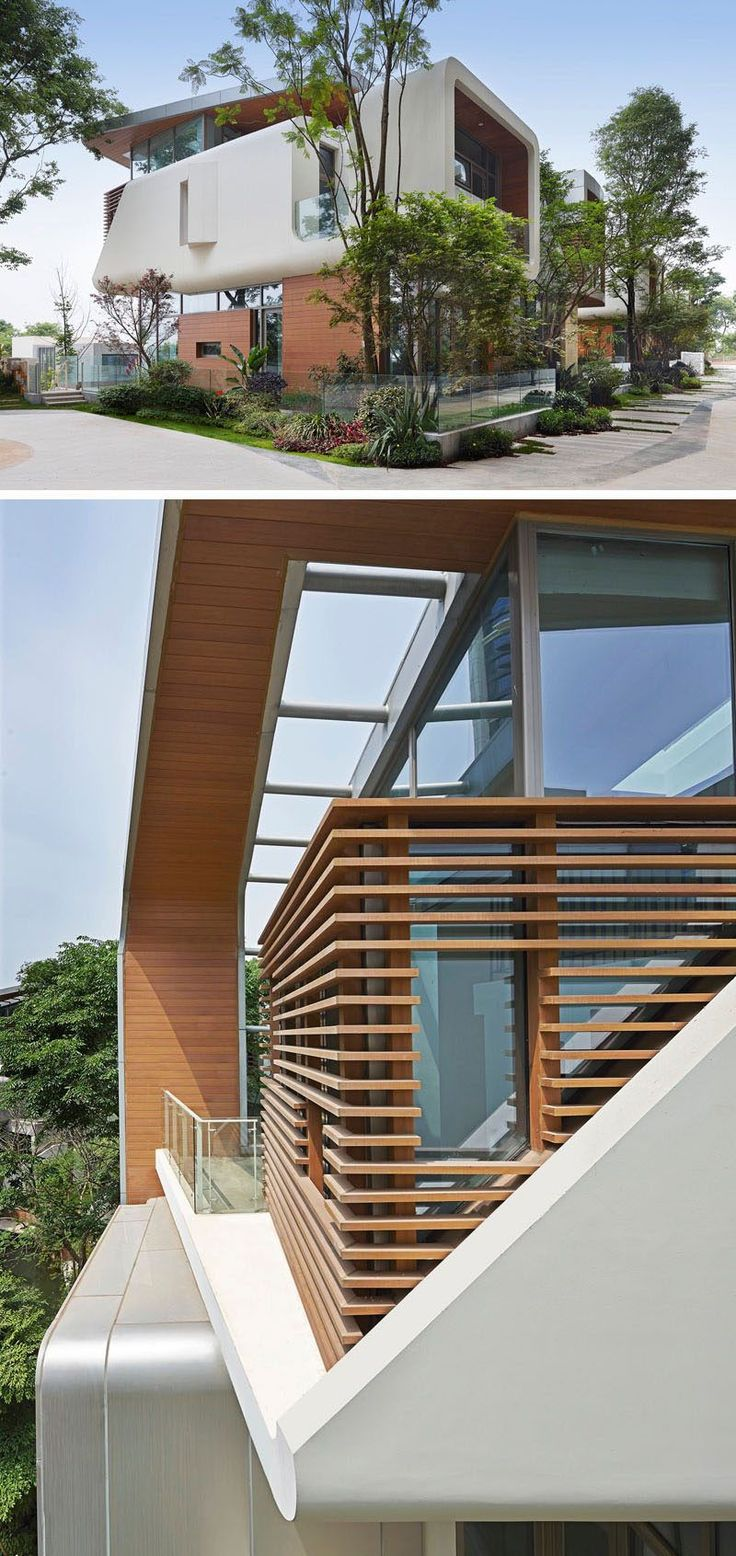 Modern exterior windows - 20 Exterior Pictures Of A Modern House Development In China By John Friedman Alice Kimm Architects