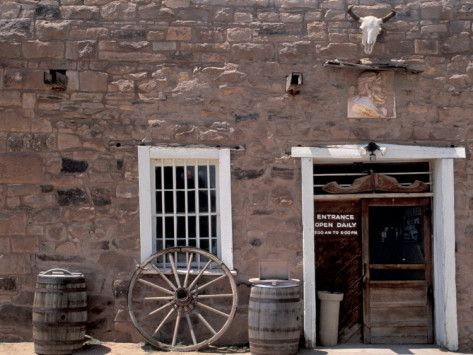 Hubbell Trading Post National Historic Site on the Navajo Nation Reservation, Arizona Photographic Print