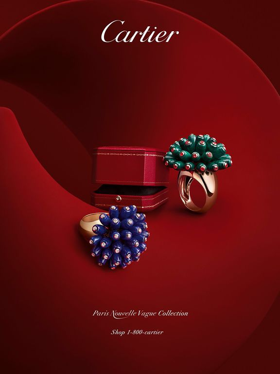 Cartier - Dakota Collection | Jewelry & Watch Advertising ...