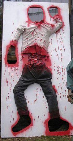 Resultado de imagen de halloween zombie decoration ideas