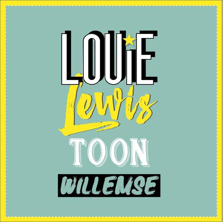 Geboortekaartje voor de lieve Louie Lewis... #birth #geboortekaartje #unique