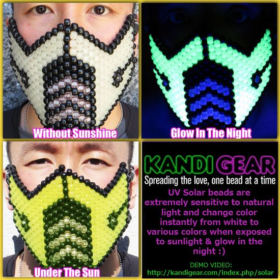 how to change the color of a mask