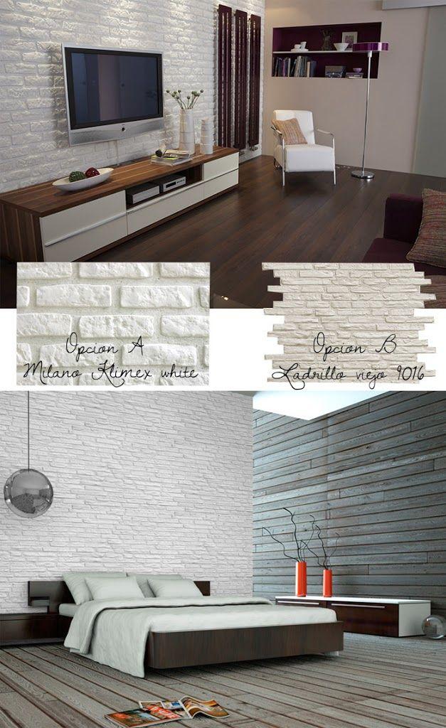 M s de 25 ideas incre bles sobre cocina con paredes de - Revestimiento imitacion ladrillo ...
