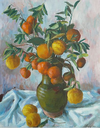 Margaret Olley | Still Life 1964 oil on board, 75 x 60 cm