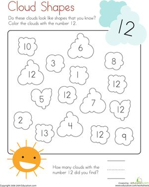 17 Best ideas about Number 12 on Pinterest | Preschool number ...