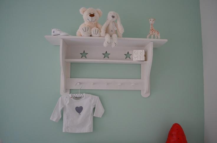 Mintgroene babykamer Luuk #room #baby #boy