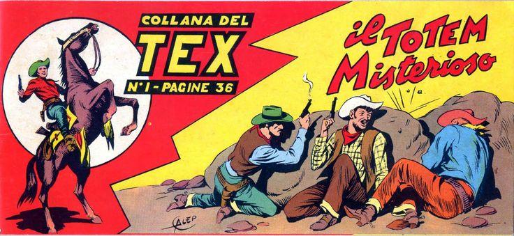 #Tex n.1 - 1948