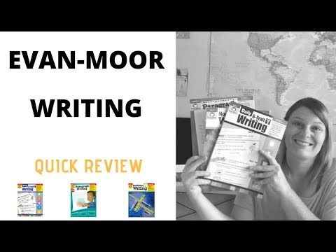 Evan-Moor Writing Homeschool Curriculum // REVIEW Grade 2