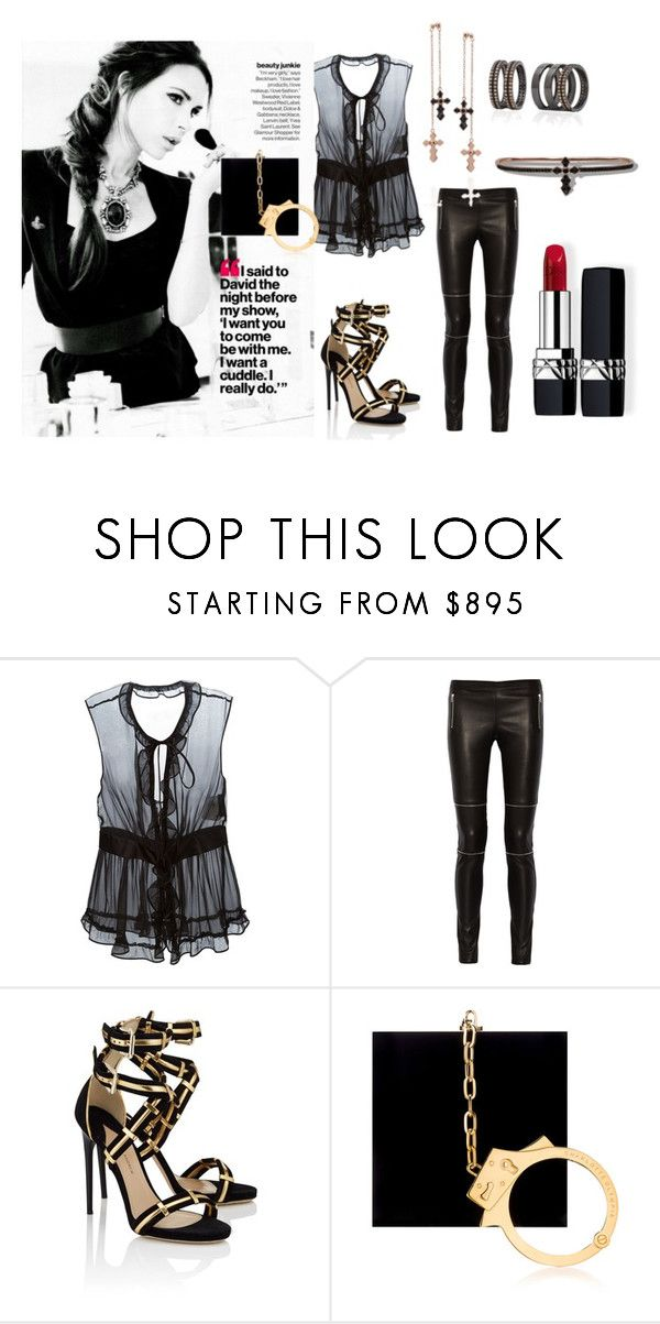 """Rock"" by tresor-maison on Polyvore featuring мода, Dolce&Gabbana, Victoria Beckham, Joseph, Paul Andrew, Armadoro, Charlotte Olympia и Christian Dior"