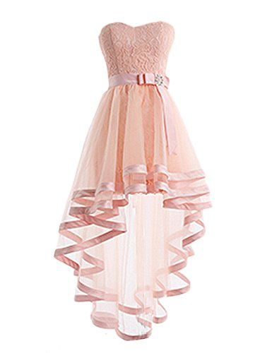 Dresstells® Women's High Low Bridesmaid Dress Homecom... http://www.amazon.com/dp/B00Y2KMT30/ref=cm_sw_r_pi_dp_RK2rxb01DMRGD