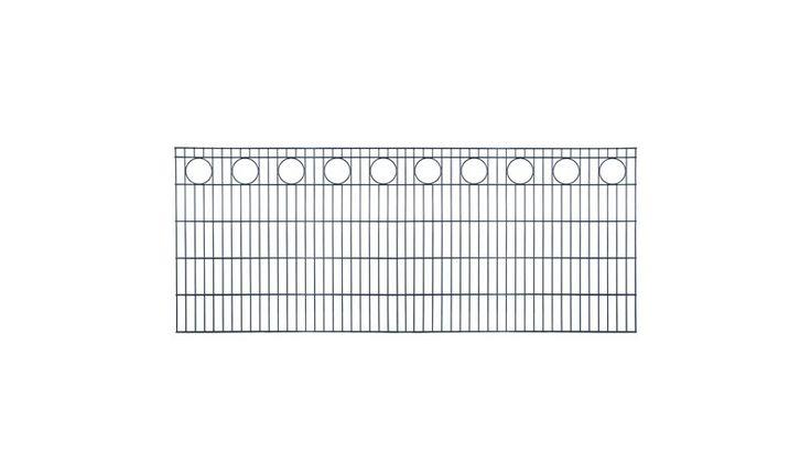 Das Zaunelement aus der Drahtzaun Serie Primus ist in den Farben Anthrazit, Feuerverzinkt und Moosgrün erhältlich. Das exklusive Design macht den Stahlzaun zum absoluten Hingucker. Der Zaun ist pflegeleicht und muss nicht mehr geölt oder gestrichen werden. Das abgebildete Zaunelement hat die Maße 251 x 80 cm. Diese und weitere Doppelstabmatten finden Sie unter http://www.meingartenversand.de/doppelstabmatten/doppelstabmattenzaun.html