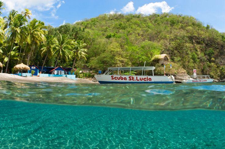 Остров Сент-Люсия на Карибах, фото 1