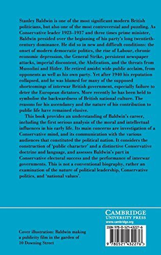 Stanley Baldwin. Conservative Leadership and National Values (British Lives)