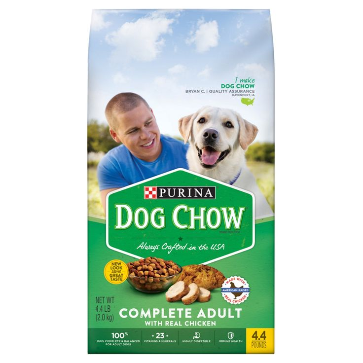 Purina Dog Chow Complete Adult Dry Dog Food - 4.4lbs