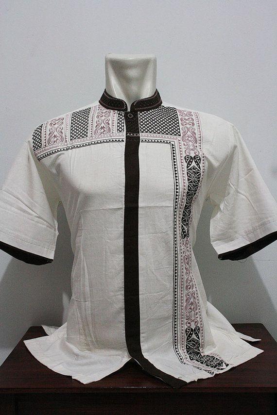 Eid man clothing short tunic Kaftan traditional salwar kameez vintage style - for muslim men