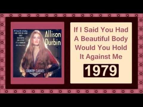 Allison Durbin - Beautiful Body, 70s Classic Country Female Singers