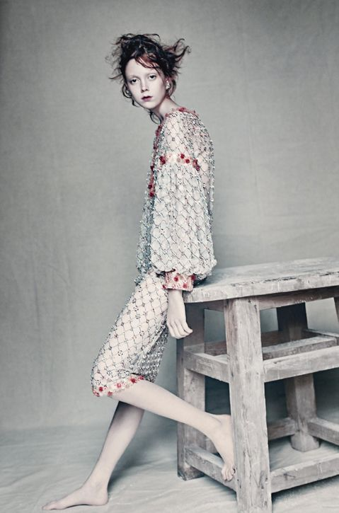 FL-o-WEN | Fashion | Photography |Natalie Westling | Paolo Roversi for Vogue Italia | March 2016 | Chanel Couture |
