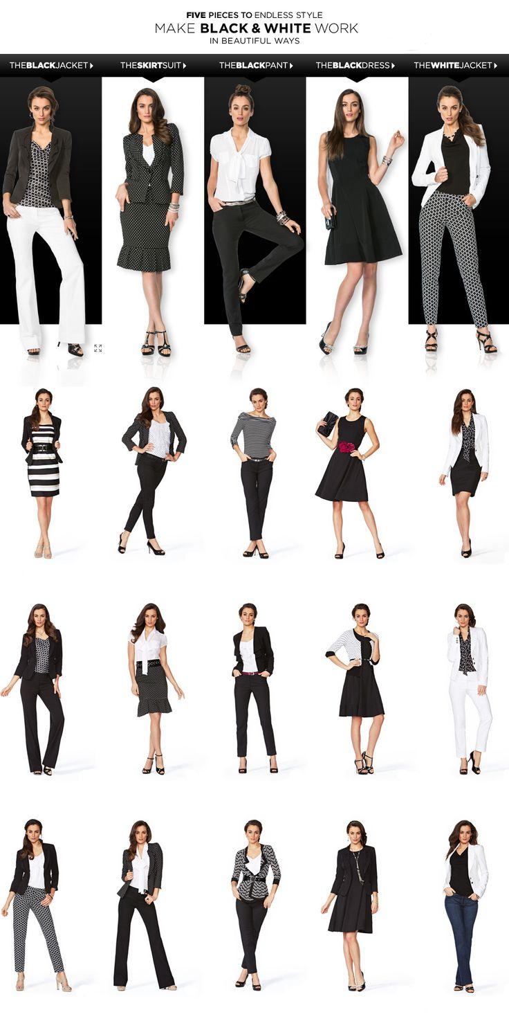 White House Black Market – 5 Pieces To Endless Style Make Black  White Work In Beautiful Ways alles für Ihren Stil - www.thegentlemanclub.de