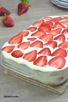 Follow me for new pin❗❗❗Il tiramisù alle fragole è un dessert davvero irresistibile!