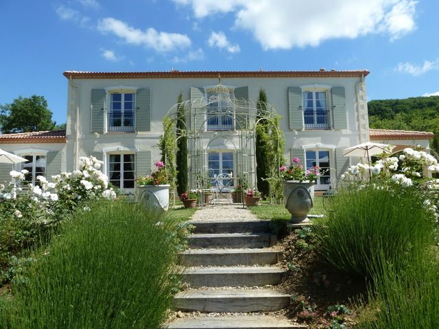 Exceptional country house with own vineyard in for French countryside homes