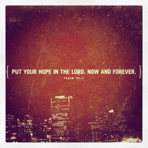 Psalm 131:3