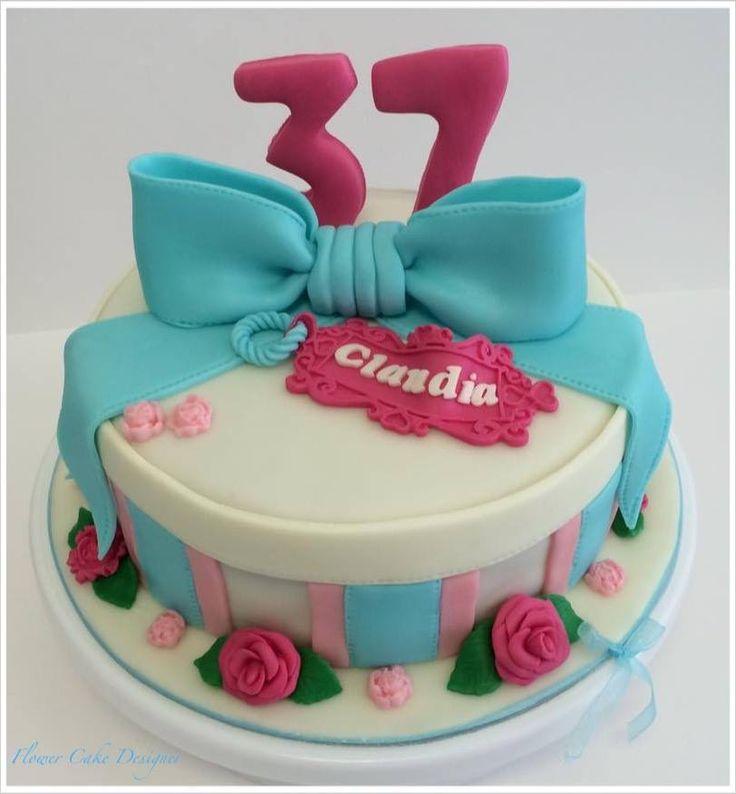 FLOWER CAKE DESIGNER: Bolo de aniversário