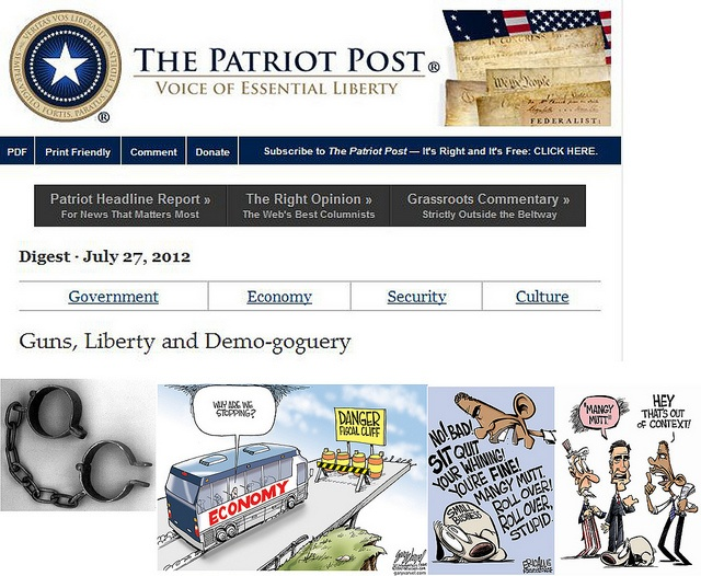 "Guns, Liberty, and Demo-goguery  patriotpost.us/editions/14250/    ""[T]he right to freedom being the gift of God Almighty, it is not in the power of Man to alienate this gift, and voluntarily become a slave."" --John Adams    The price of forfeiting Libert stampcollecting    Please Help Me Out   Checkout some ads   only if they interest you.   Thanks For Click on the   stampcollecting.forallup.com"