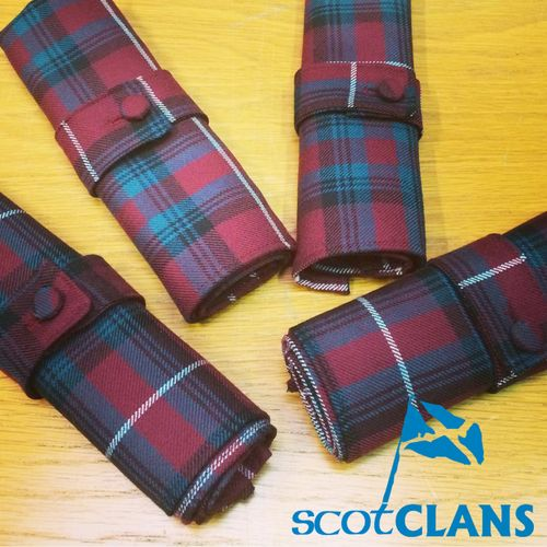 Handmade here at ScotClans in the range of Reiver Tartans