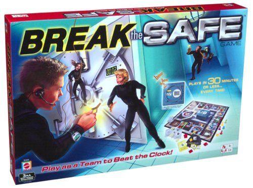 Break the Safe Game by Mattel, http://www.amazon.com/dp/B00008O0XH/ref=cm_sw_r_pi_dp_D1eEqb0G0N199