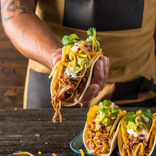 Traeger BBQ Double Decker Taco Recipe | Traeger Wood Fired Grills