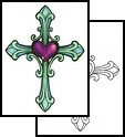 """Christian Tattoo Design (GSF-01348) // and I've also thought about if I get the smaller cross tattoo, maybe later on kinda """"upgrading"""" it to this …"""