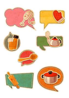 Nuskina: Imprimibles gratis para decoración, scrapbooking, libro de recetas, etc..
