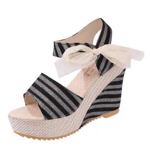 a5b681f72cdf Women Summer Beach Sandals Peep Toe Wadge Shoes Magic stick Sandals   beachsandals