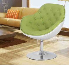 Modern Living Room Furniture | Green Accent Chairs