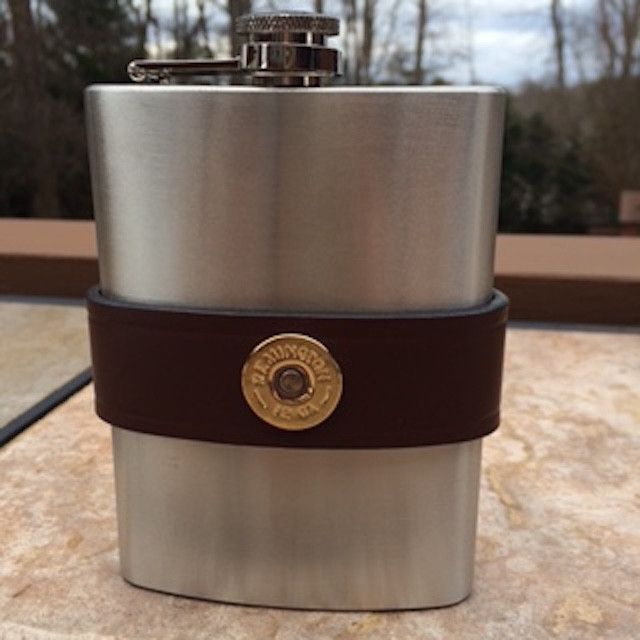 Best  Images On   Flasks Brown Leather And Gift