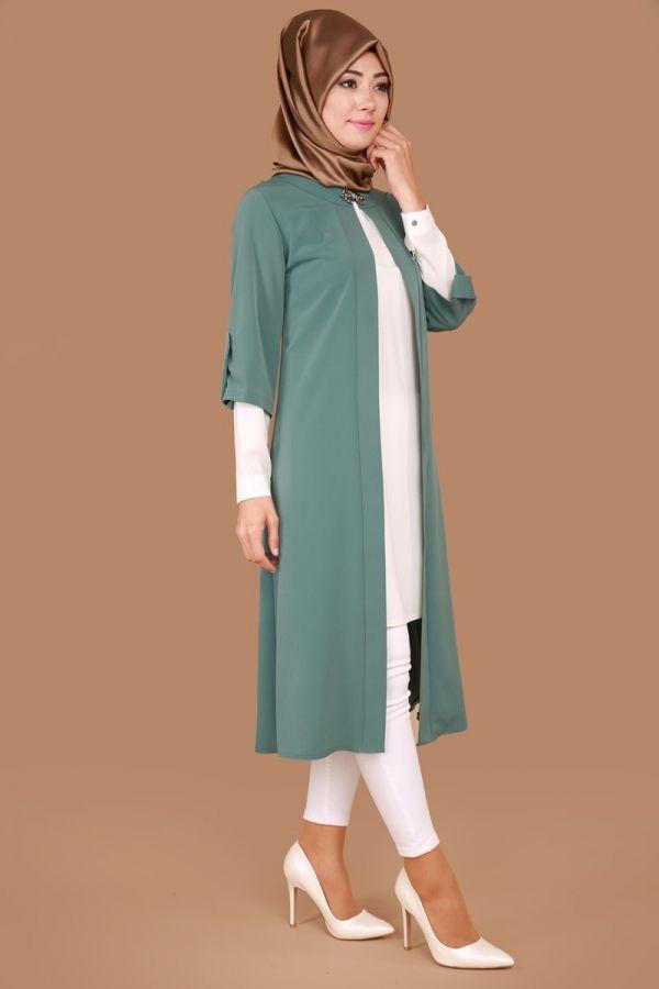 Semra İkili Tunik Takım Mint Ürün kodu: SF3483 --> 129.90 TL