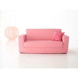 Kids Pink Flip Out Sofa