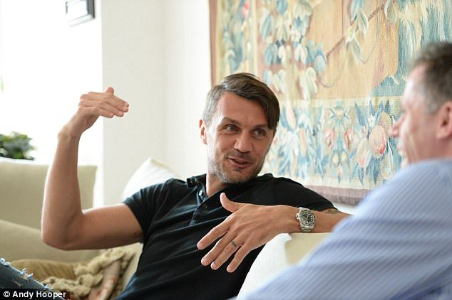 Paolo Maldini told Jamie Carragher that Italian football would take years to get back to the top