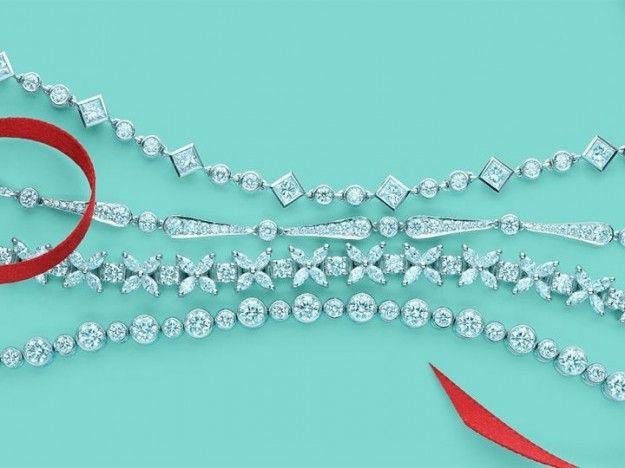 Bracciale di diamanti di Tiffany