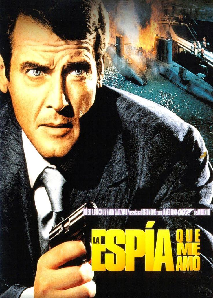 cine sinopsis y peliculas para descargar : La espía que me amó (1977) Accion  La misteriosa desaparición de dos submarinos nucleares hace que colaboren los mejores operativos de los servicios secretos británico y soviético: James Bond y la mayor Amasova.